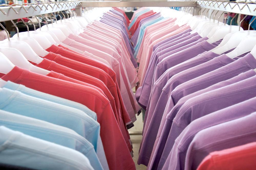 Skupinové položky využijete v textile.